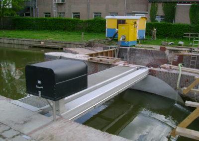 Geautomatiseerd met AUMA 400 V in HDPE Beschermkap