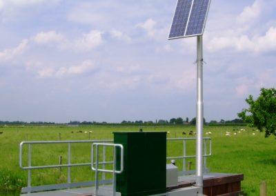 Kantelstuw met Zon- en Wind Energie